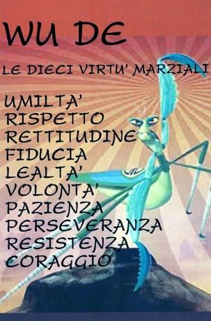 le dieci virtù marziali - Wushu